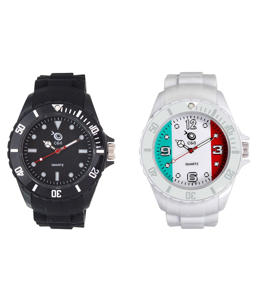 Chappin & Nellson Multicolour Analog Watches - Set of 2