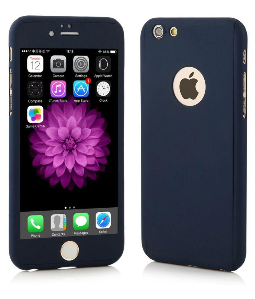 72414c64c2 Apple iPhone 6S Plain Cases Tecozo - Blue - Plain Back Covers Online at Low  Prices | Snapdeal India