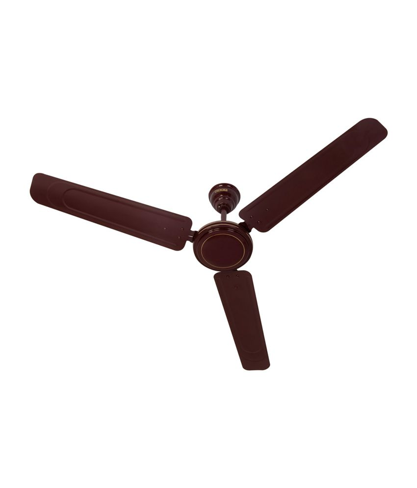 Usha 1200 Mm Spin Ceiling Fan Brown Price In India Buy
