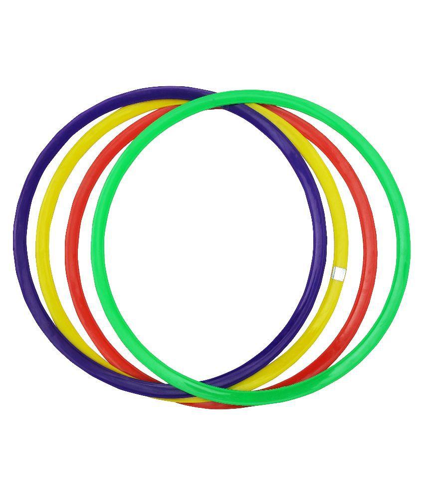 GSI Multicolour Juggling Rings - Set of 4
