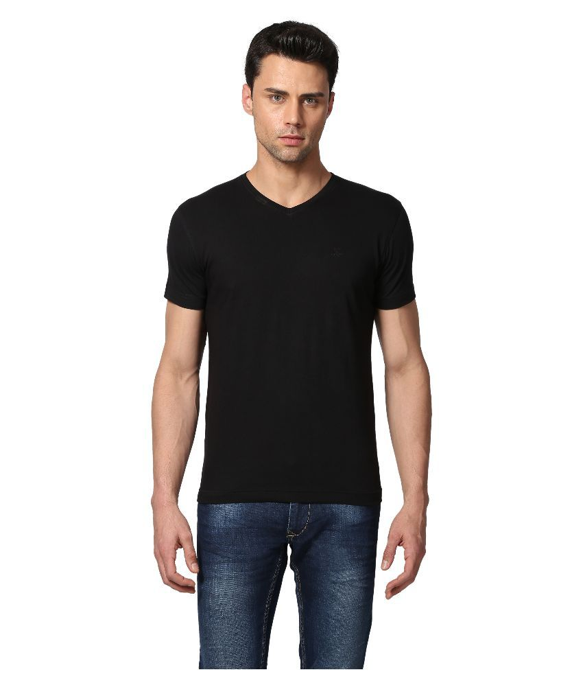 Goat Black V-Neck T Shirt