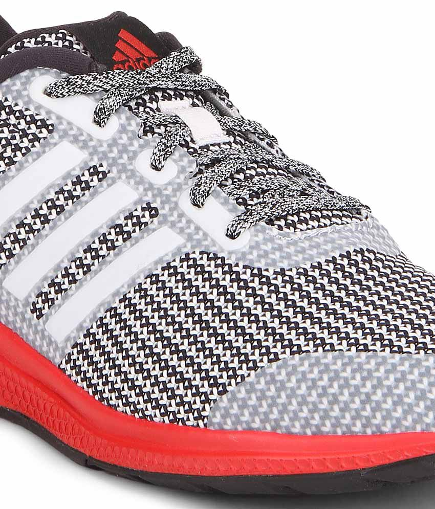 9a617605fa1f3 Adidas Mana Bounce Gray Sports Shoes - Buy Adidas Mana Bounce Gray ...