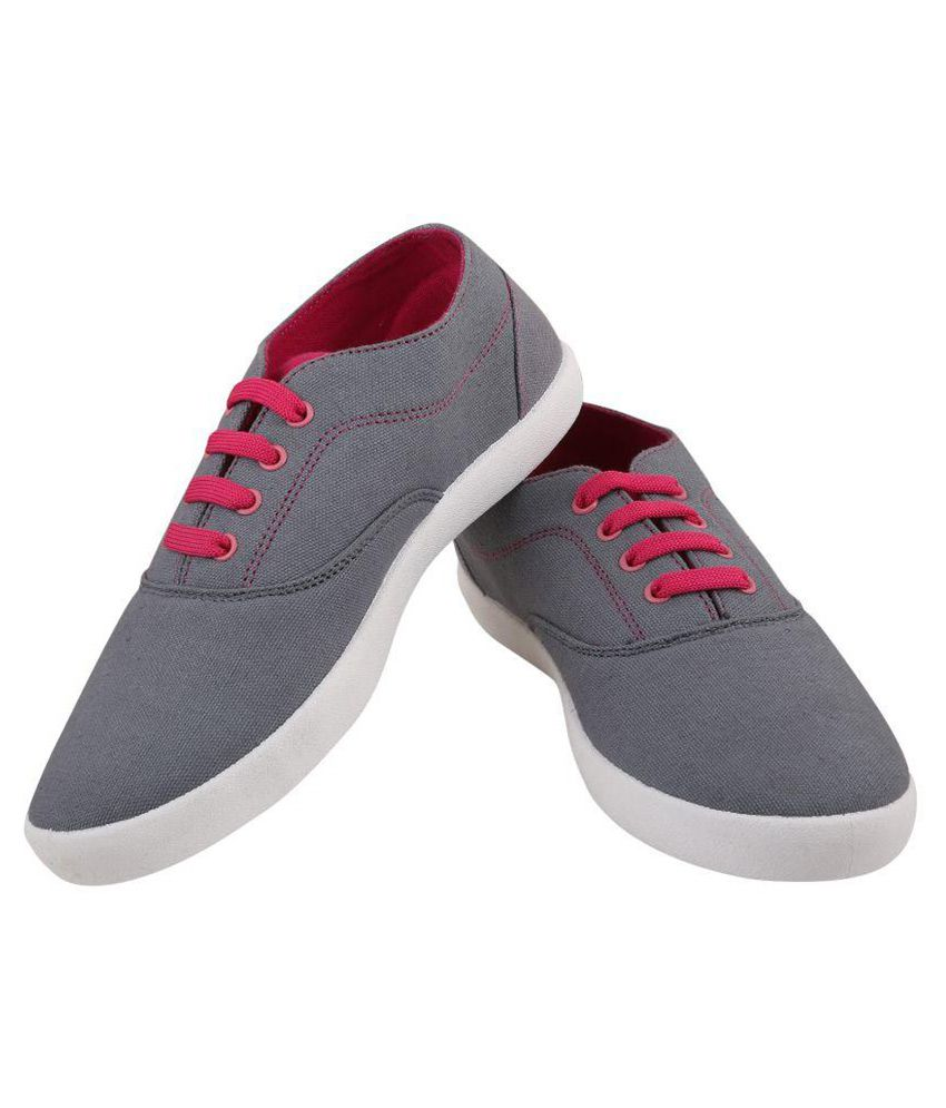 Globalite Gray Sneakers Women Casual shoes Price in India- Buy Globalite  Gray Sneakers Women Casual shoes Online at Snapdeal 6686647c6f