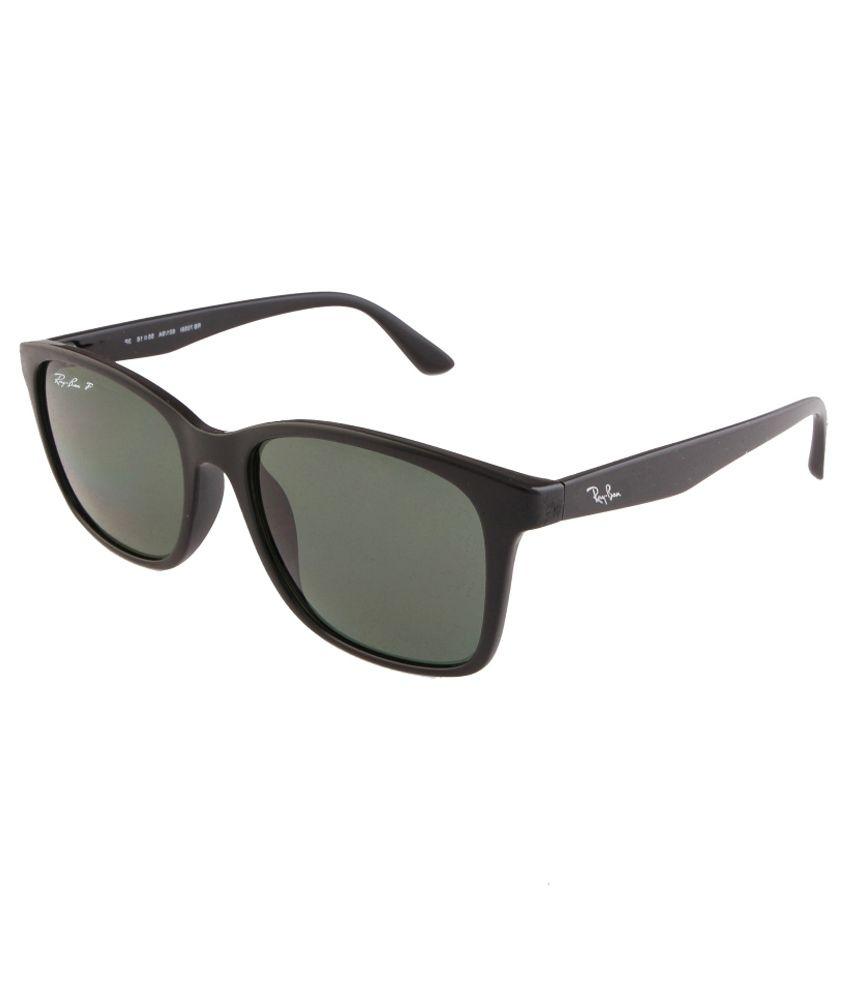 ray ban green wayfarer  Ray-Ban Polar Green Polarized Wayfarer Sunglasses (RB7059/601-9A ...