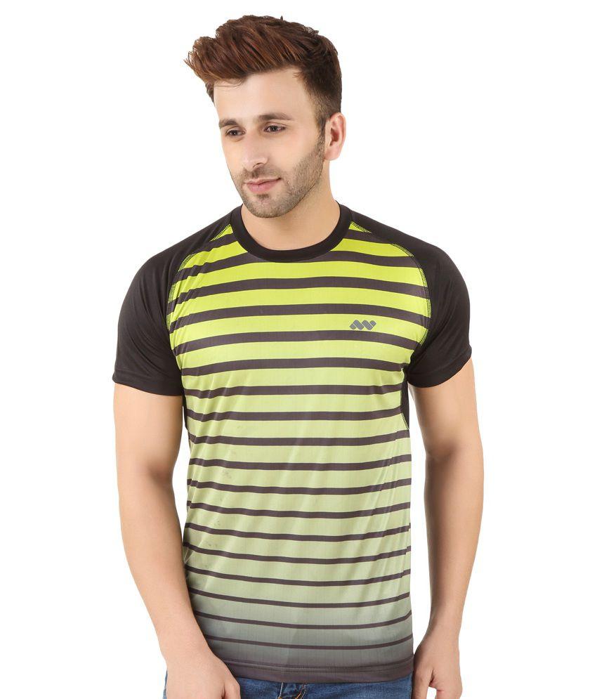 Spunk Multi Round T Shirt