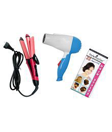 Style Maniac NHC-2009:N-658 Hair Straightener Pink