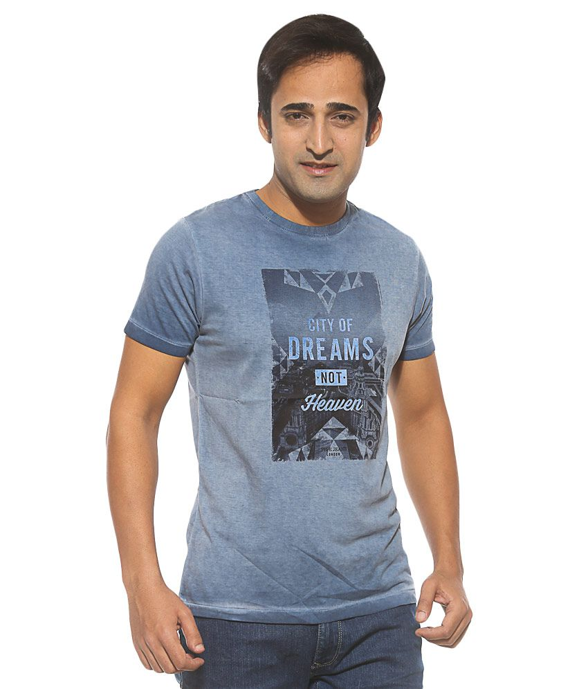Pepe Jeans Blue Round Neck T Shirt