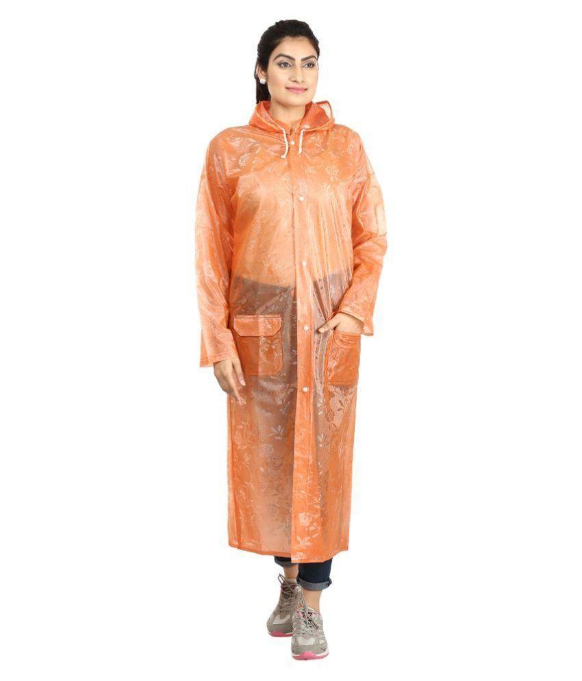 Rainfun Multicolour Polyester Raincoat - Pack of 2