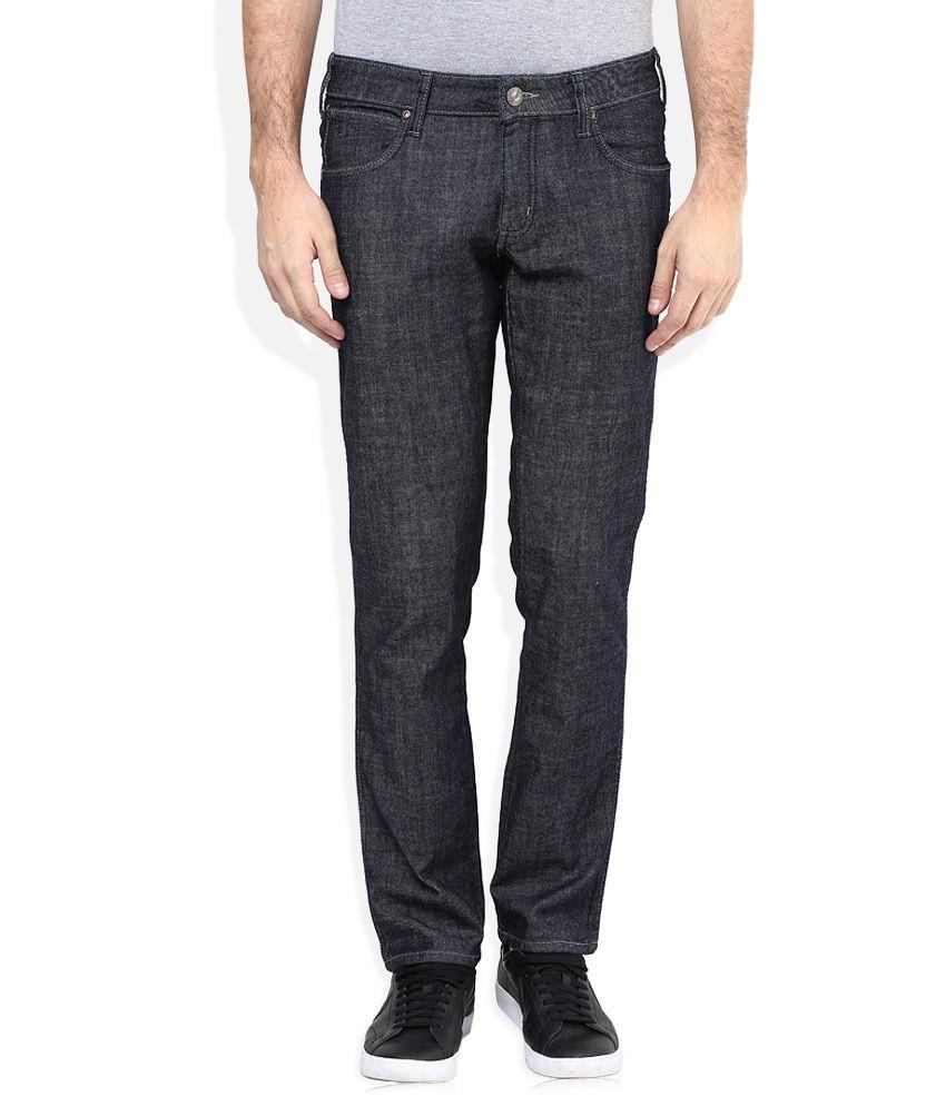 Wrangler Black Rockville Regular Fit Jeans