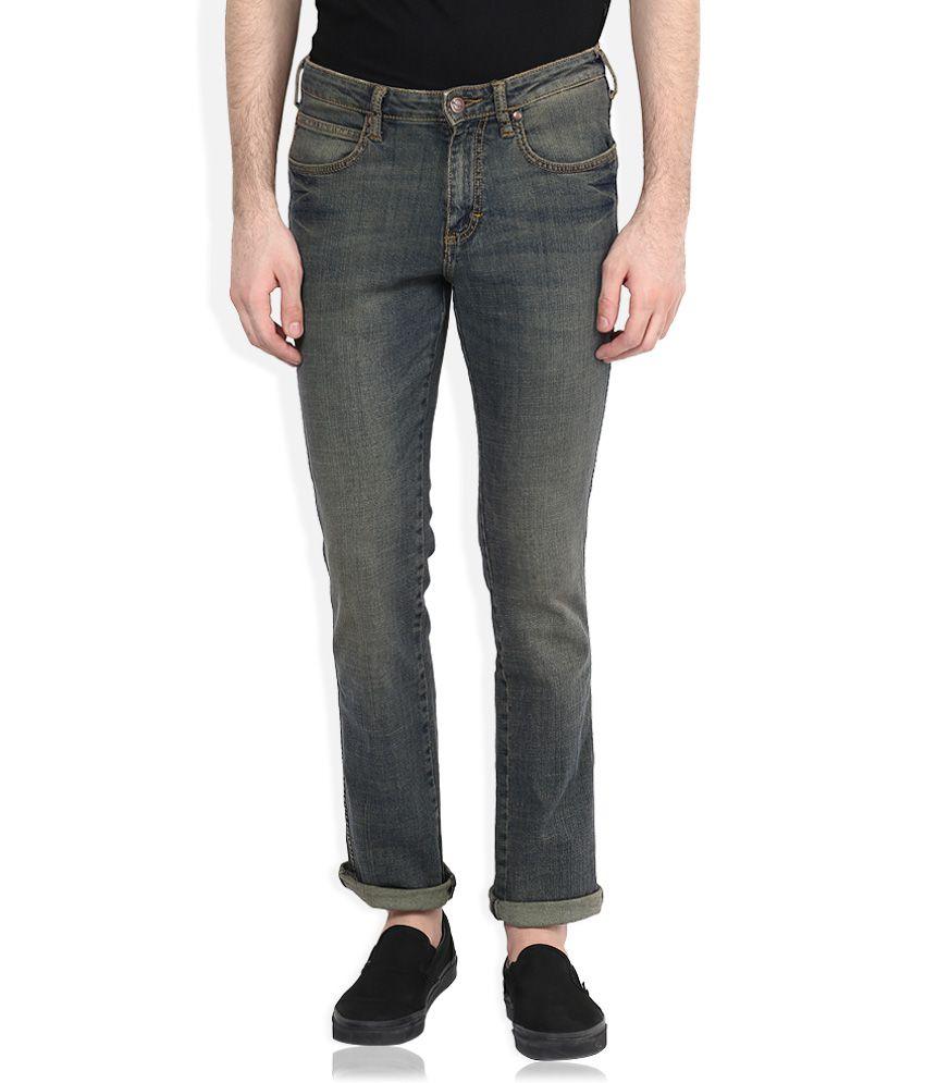 Wrangler Blue Millard Regular Fit Jeans