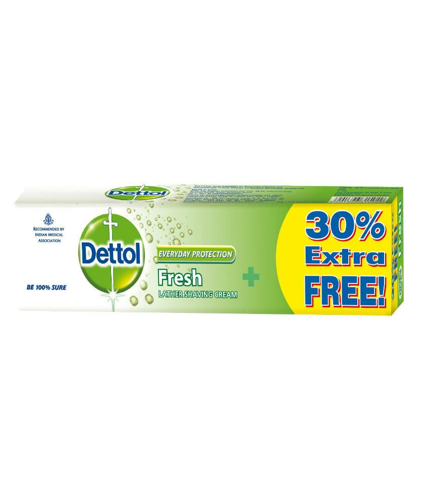 Dettol Shaving Cream Fresh 70g+30%