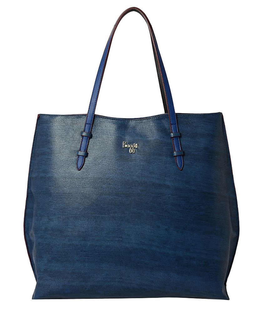 Baggit Blue Synthetic Shoulder Bag