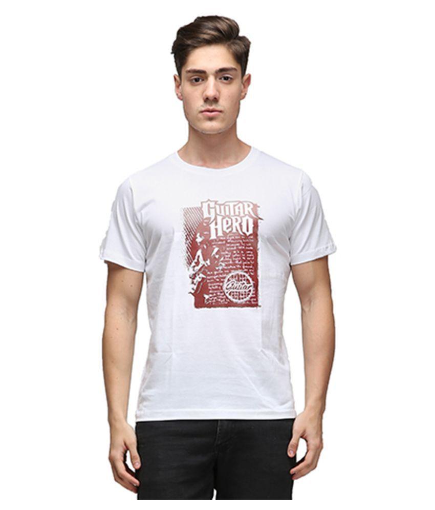 Effit White Round T Shirt