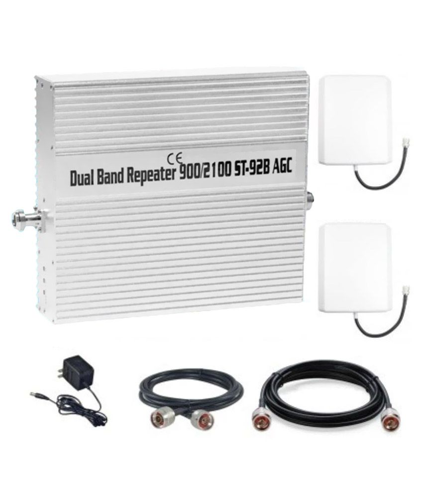 Lintratek ST-92B 3G + 4G Mobile Signal Repeater 1600 RJ11 Other apart from Black & White