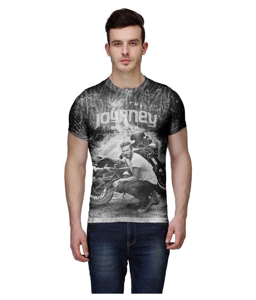 Wear Your Mind Multi Round T Shirt