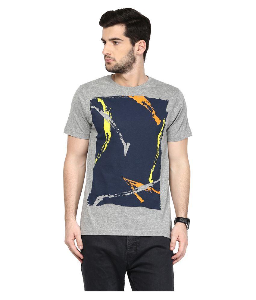 Yepme Grey Round T Shirt
