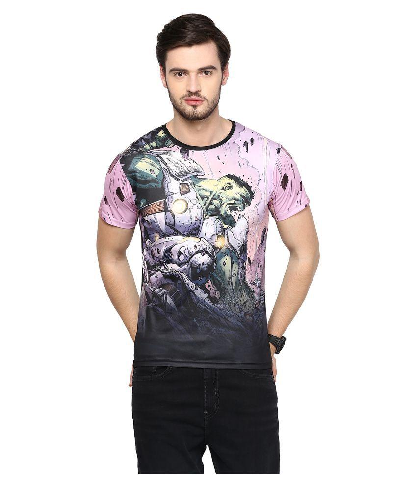Yepme Multi Round T Shirt