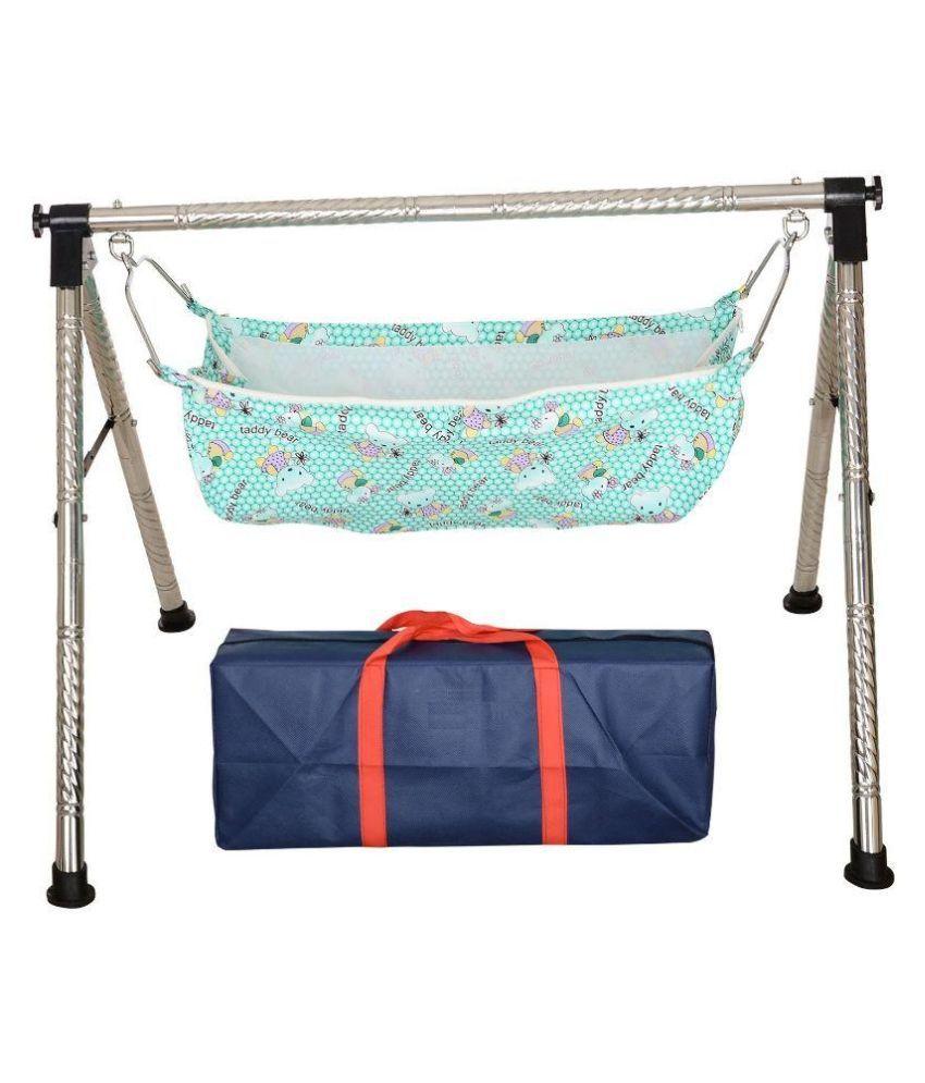 Gita Export Fully Folding Baby Cradle ( Ghodiyu )