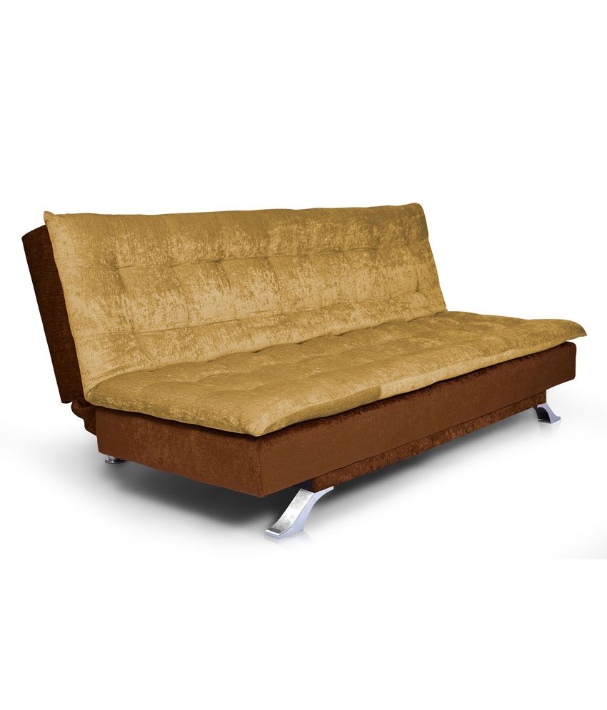 Tremendous Neptune 3 Seater Solid Wood Sofa Cum Bed Beige Brown Machost Co Dining Chair Design Ideas Machostcouk