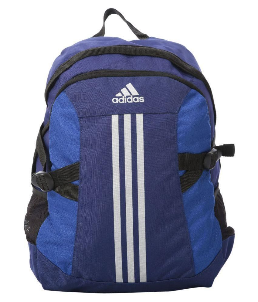 c5b0cfea31 Adidas BP Power 2 Blue 20 Polyester Casual Backpack - Buy Adidas BP Power 2  Blue 20 Polyester Casual Backpack Online at Low Price - Snapdeal