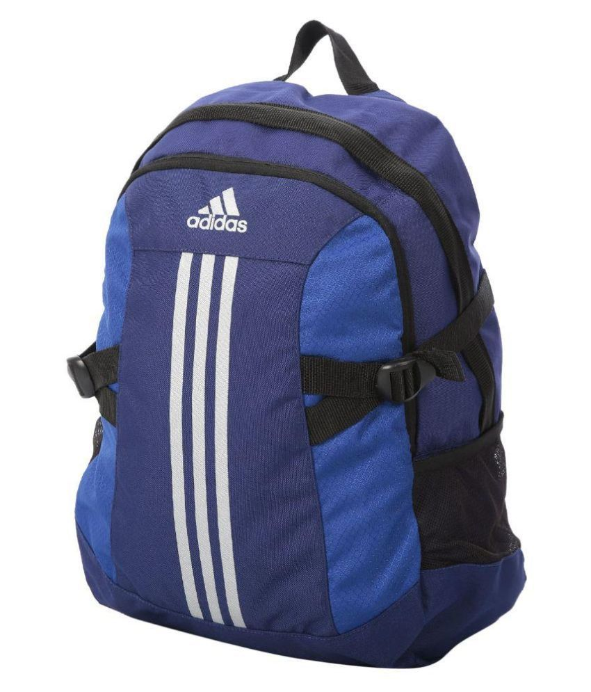 49d35f96b0 Adidas BP Power 2 Blue 20 Polyester Casual Backpack - Buy Adidas BP ...