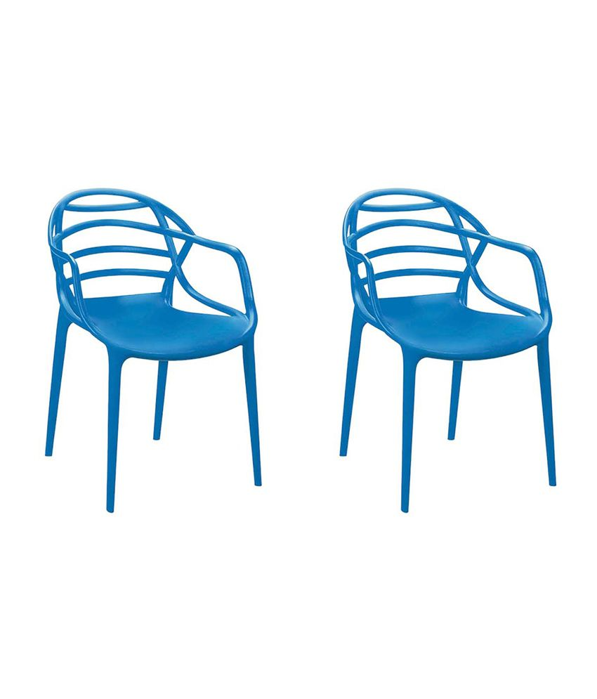 Cello Atria Plastic Chair Set Of 2 Online At Best Prices In India On Snapdeal