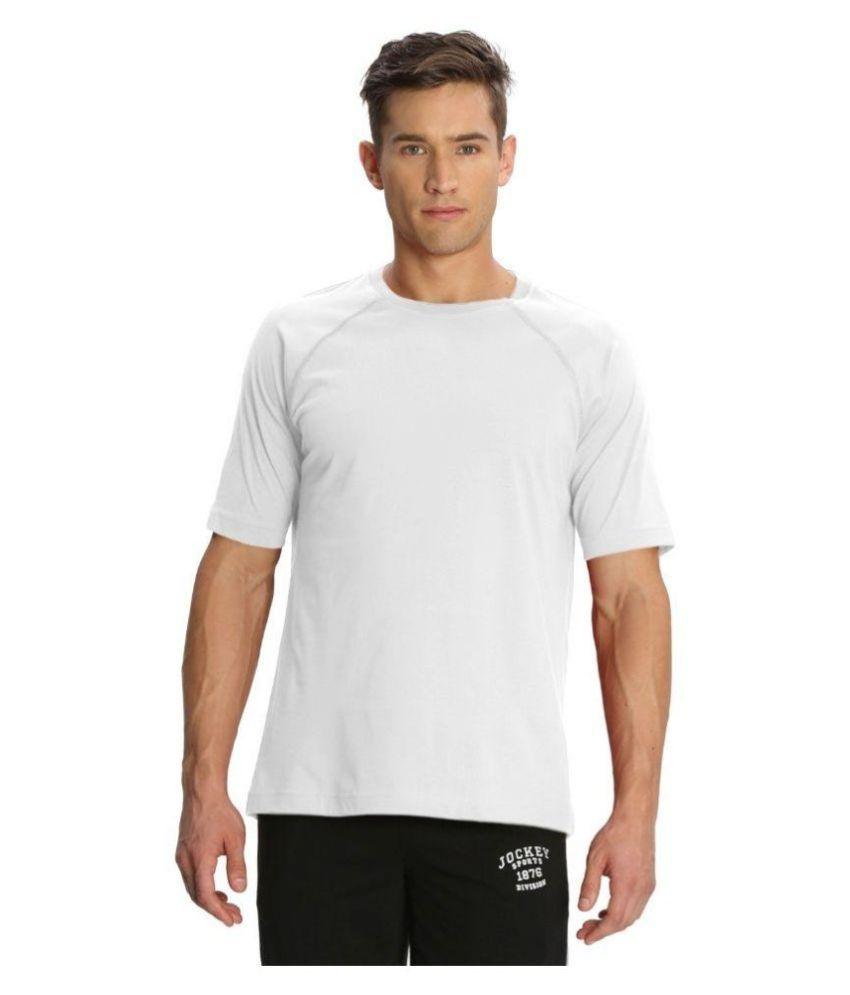 Jockey White Round T Shirt