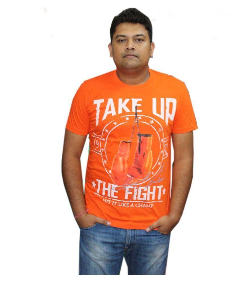 Youngman Orange Round T Shirt