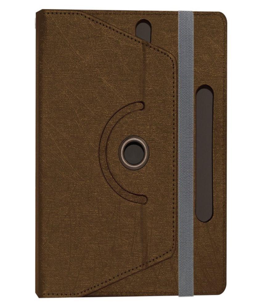 ACM Rotating Flip Cover for Digiflip Xt811 - Brown