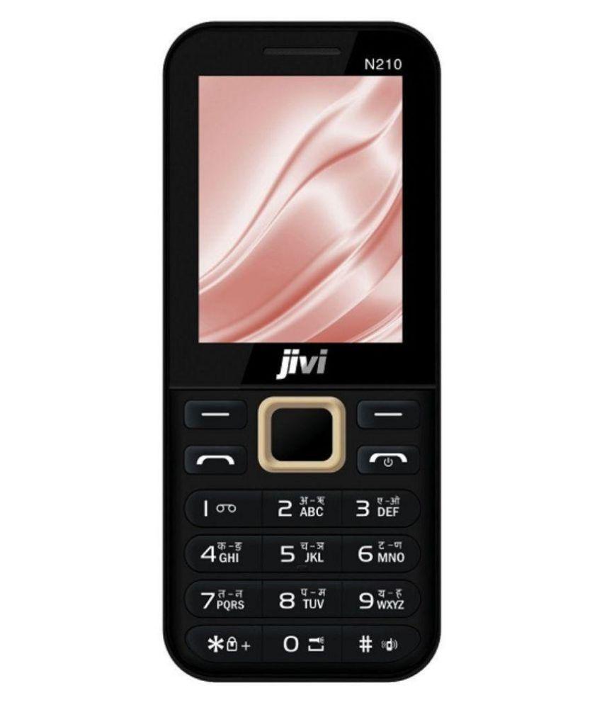 Jivi N210 Black-Champagne ( Below 256 MB Black )