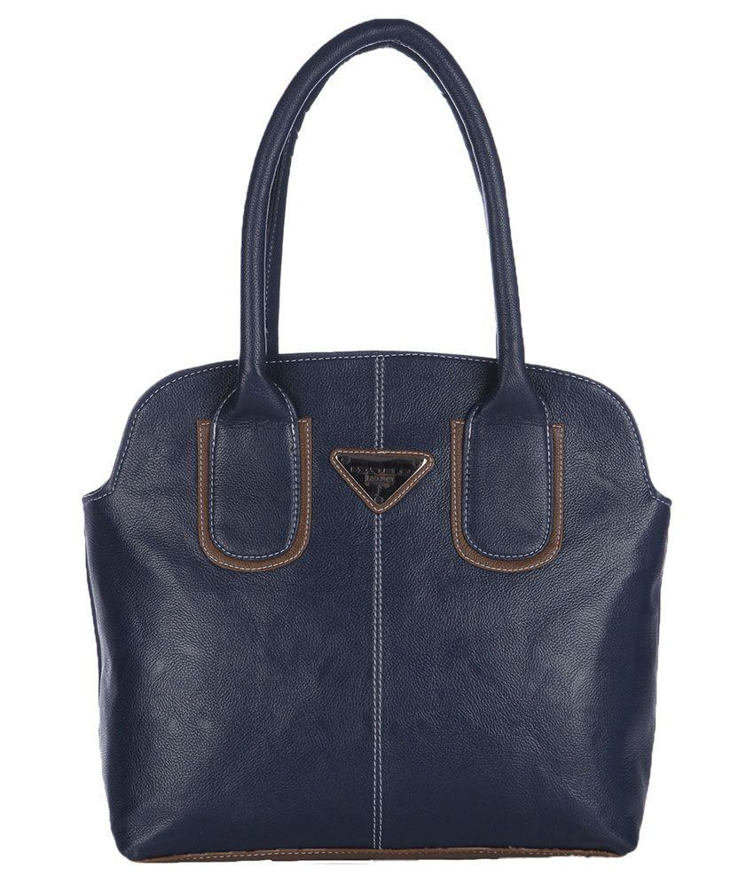 Fostelo Blue Synthetic Shoulder Bag