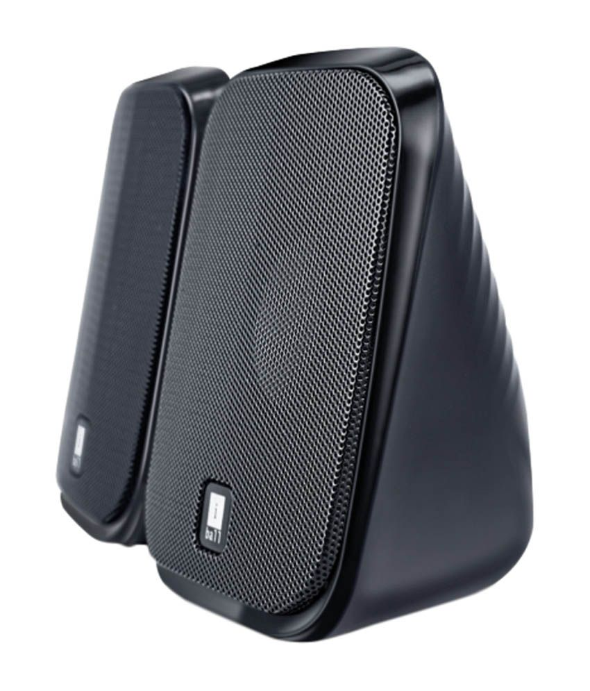 buy iball decor 9 2 0 speakers black online at best