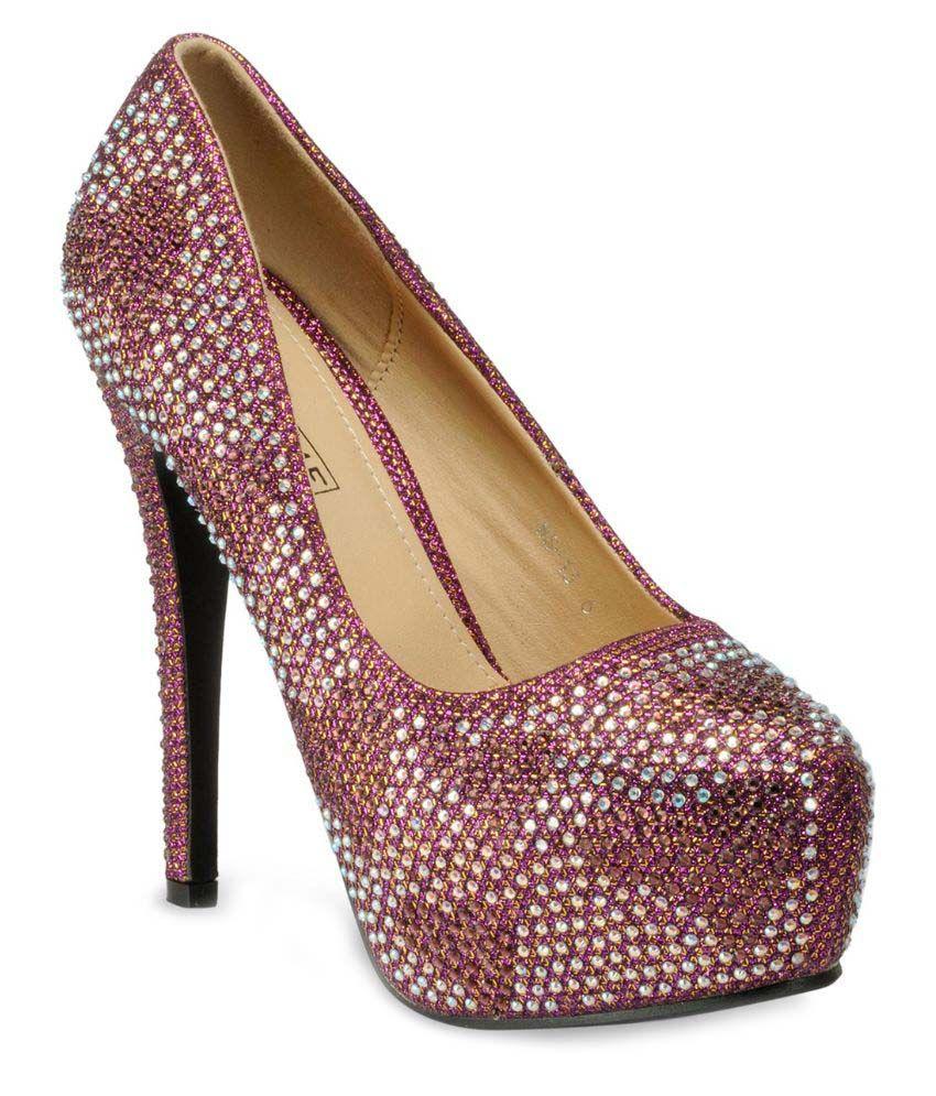 Yepme Purple Stiletto Heels