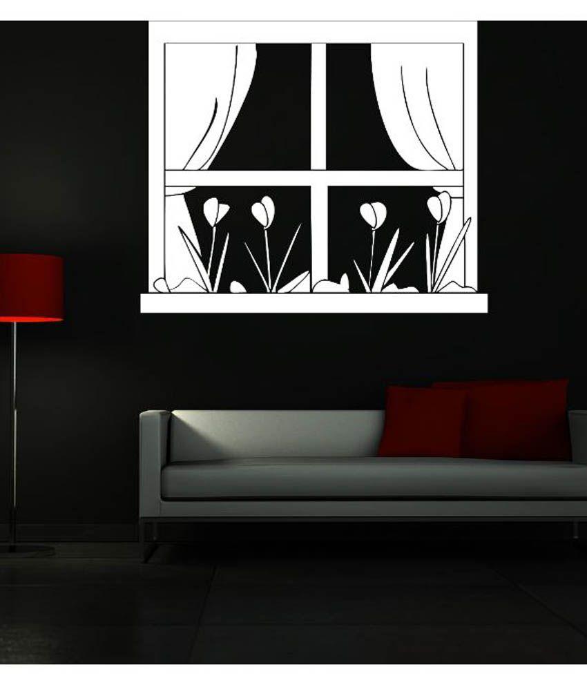 Creatick studio window vinyl wall stickers buy creatick for Buy vinyl windows online