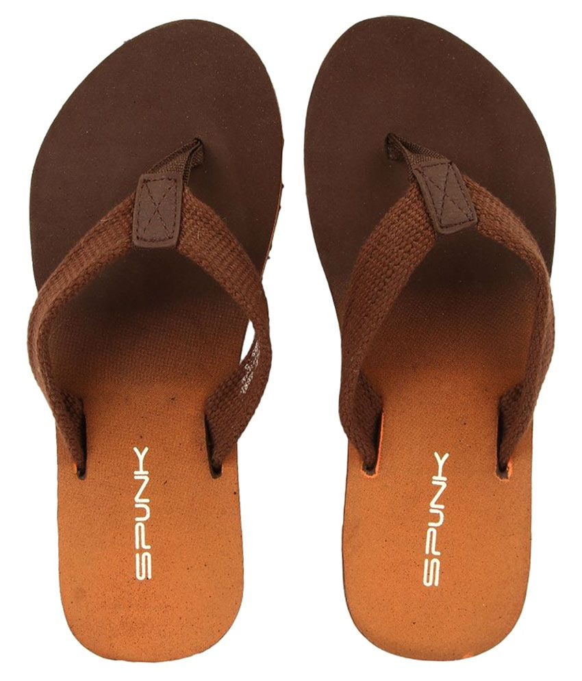 Spunk Brown Slippers