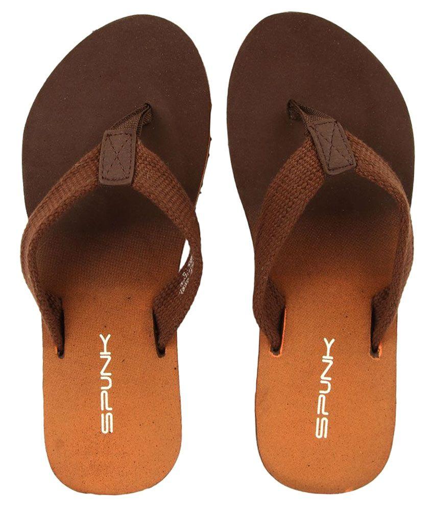 Spunk Brown Slippers