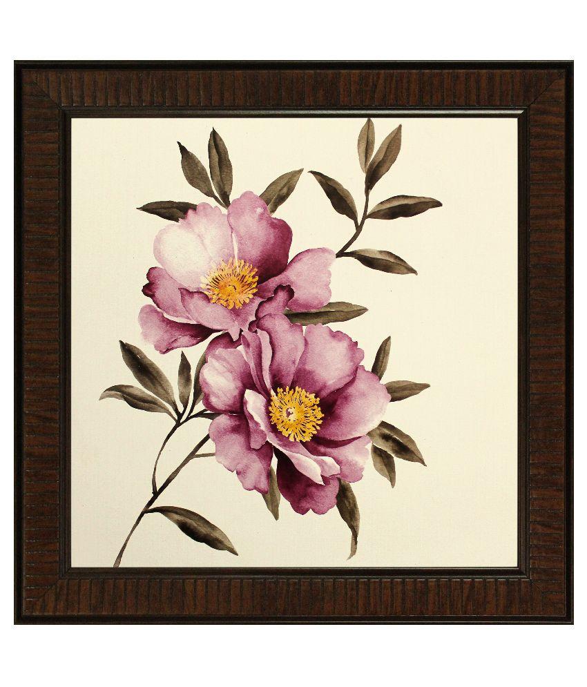 SAF ShyamArtnFrame Wood Art Prints With Frame Single Piece