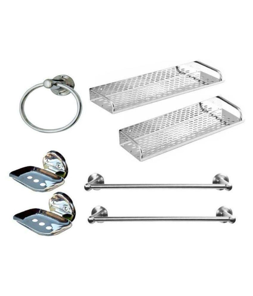 buy vpsk stainless steel bathroom accessories - set of 7 online at