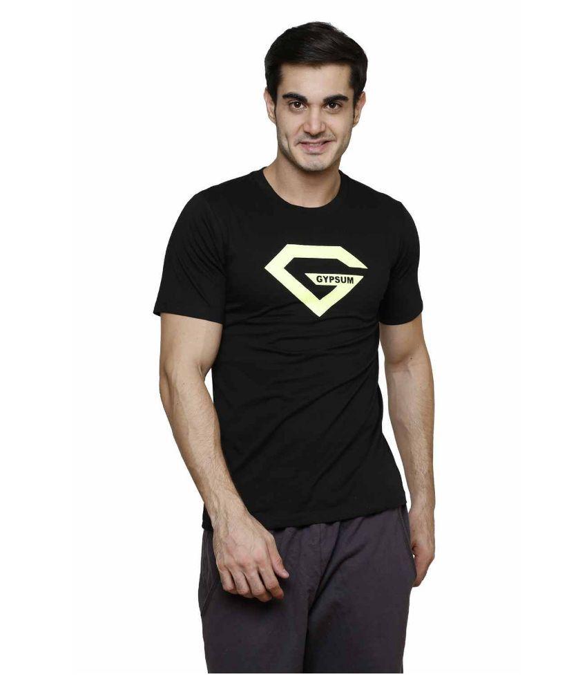Gypsum Black Round T Shirt