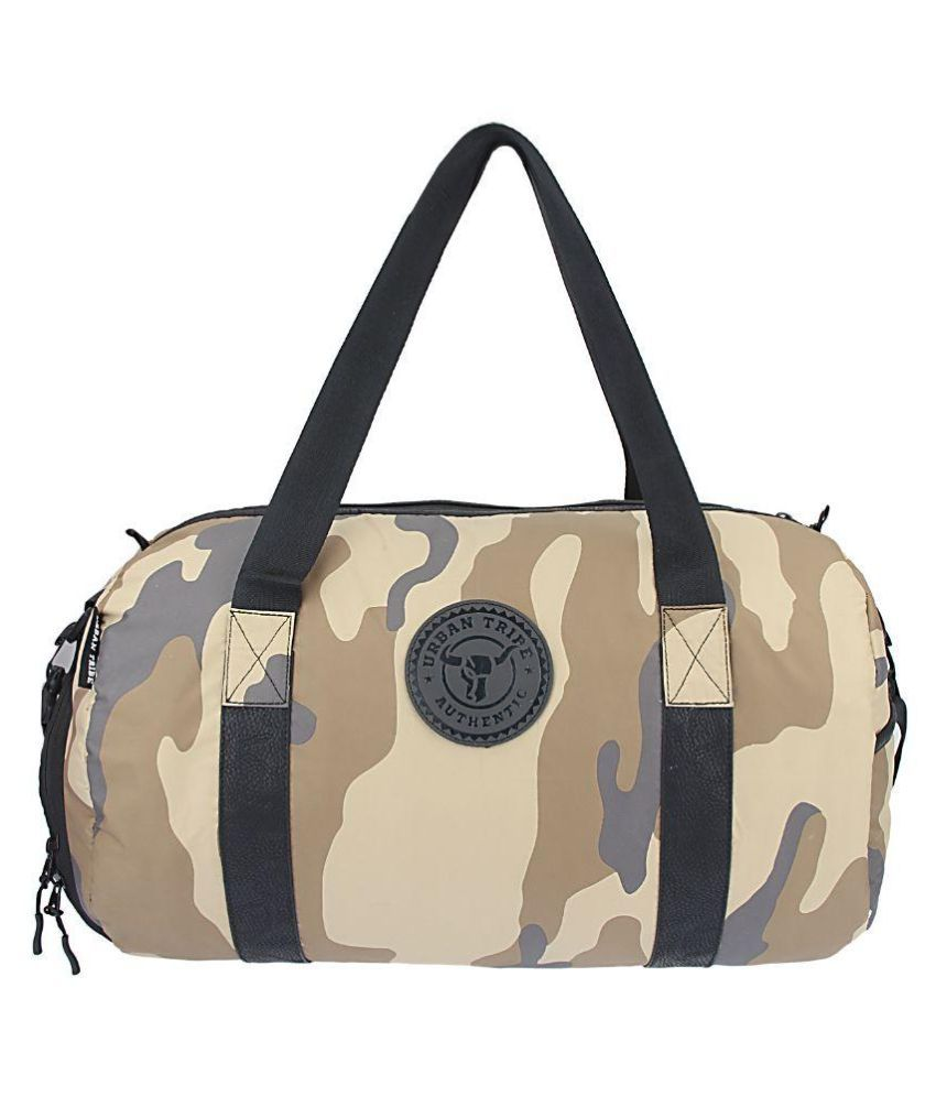 Urban Tribe Troops Brown 40 Gym Bag