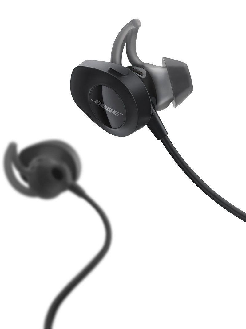a08f422ac4f Bose SoundSport Wireless Headphones Black Bose SoundSport Wireless  Headphones Black ...