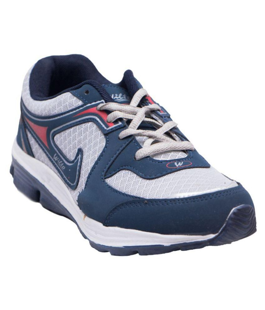Asian Shoes B13 Navy Blue Running Shoes