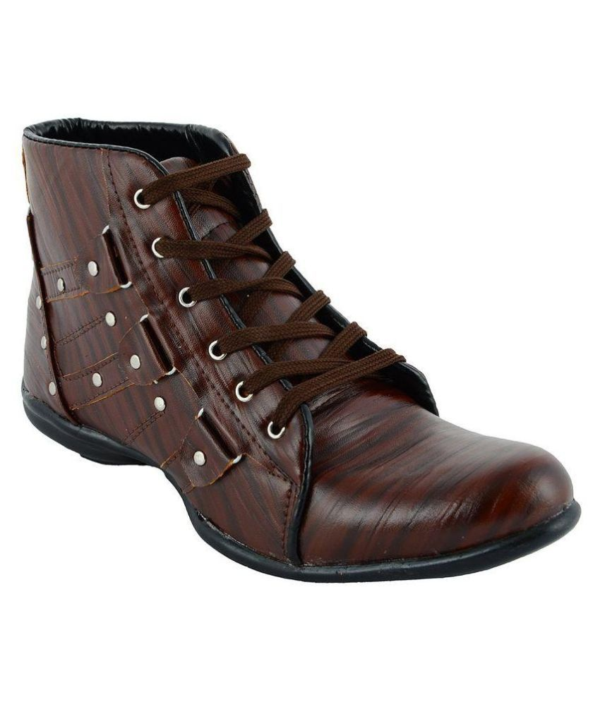 Buywell Brown Boots
