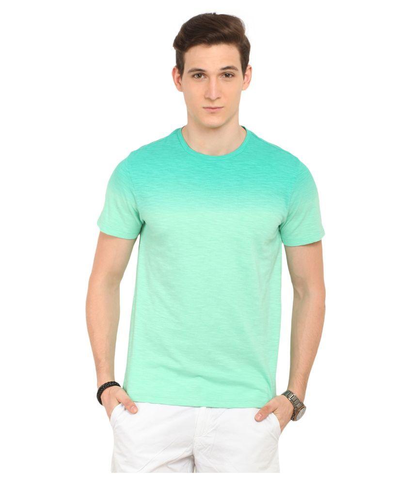 Leo Sansini Green Round T Shirt
