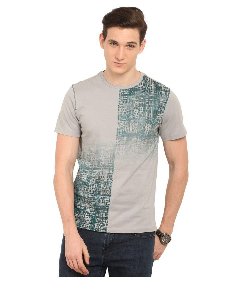 Leo Sansini Grey Round T Shirt