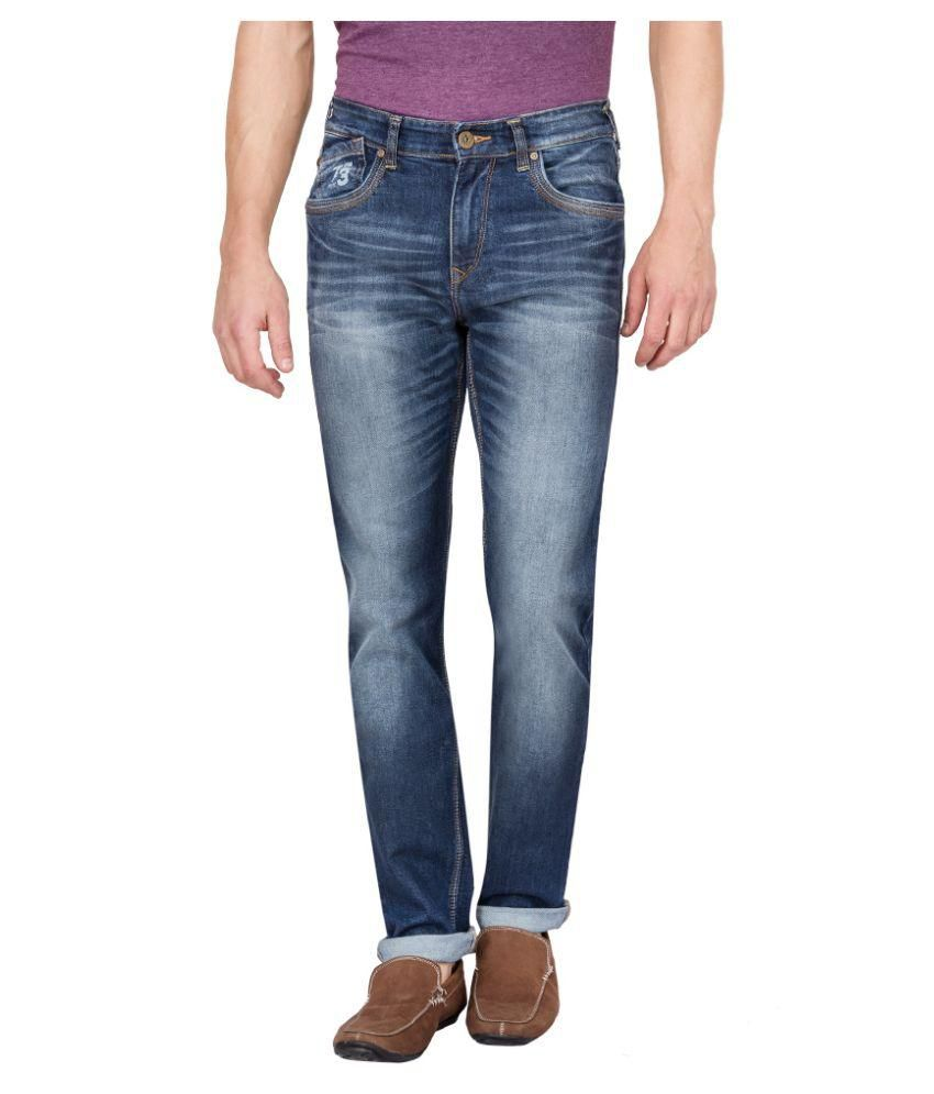 Pepe Jeans Blue Slim Washed