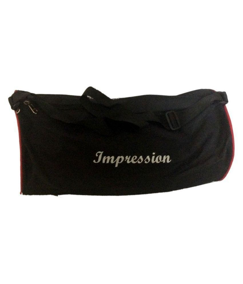 Spofit Black Gym Bag