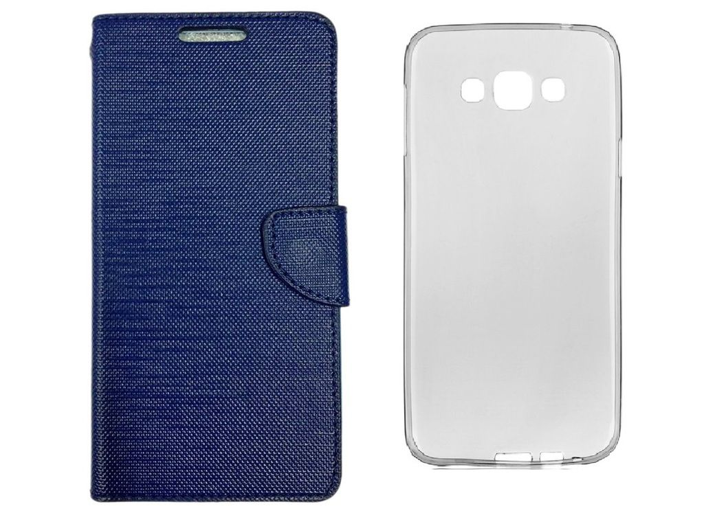 cheaper c733b f476d Colorcase Flip Cover Case for Samsung Galaxy J5-6 (2016) with Back Cover
