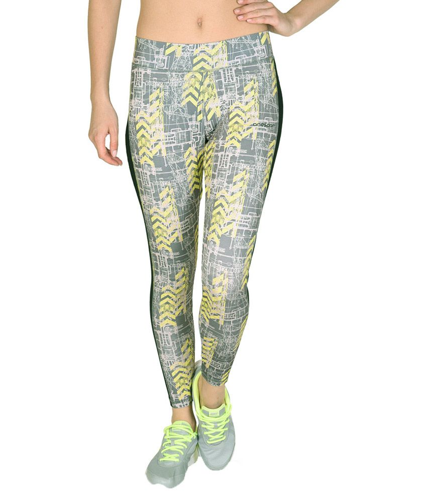 Onesport Multicolor Polyester Tights