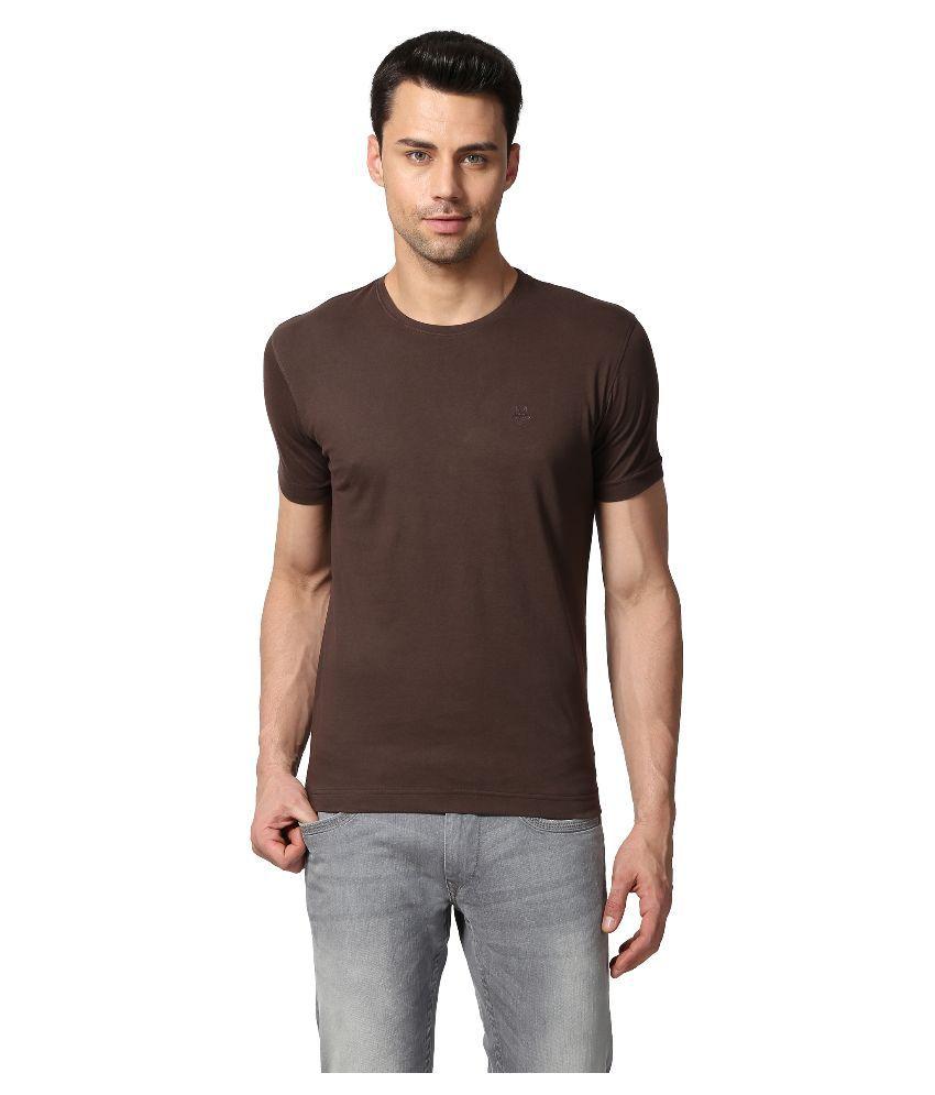 Goat Brown Round Neck T Shirt